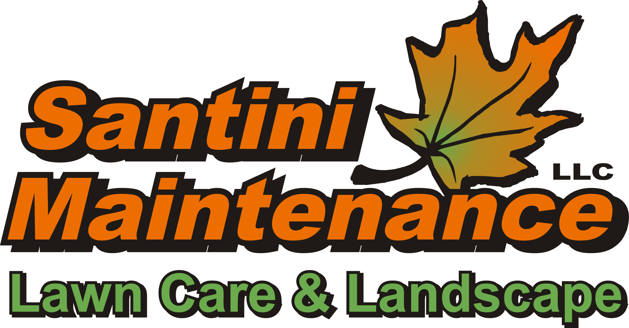 Santini Lawn and Landscape Maintenance Logo